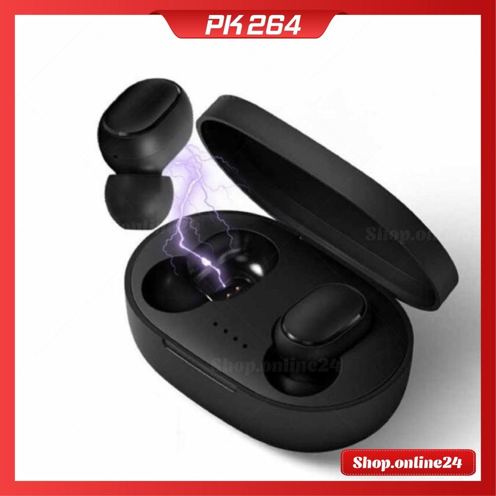 Tai nghe Bluetooth A6S TWS không dây kèm Mic âm trầm, chống ồn, chồng nước, Bass Cực Mạnh, Công Nghệ 5.0