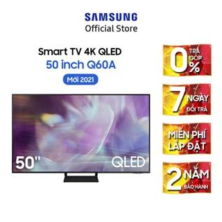 [Mã ELSAMHOT giảm 5% đơn 3TR] Smart Tivi Samsung 50 Inch QLED 4K QA50Q60AAKXXV – Model 2021 – Miễn phí lắp đặt