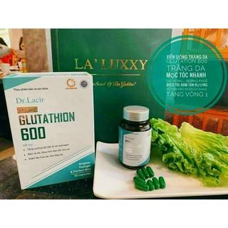 Viên Nám Trắng Da Glutathione chính hãng Drlacir thumbnail
