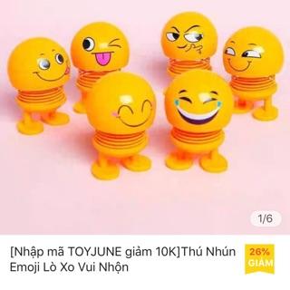 ComBo 5 con Emoji thú nhún lò xo siêu cưng
