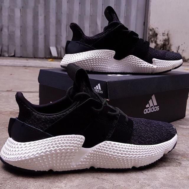 Giày Thể Thao Adidas Prophere Đen Đế Trắng (Ảnh thật)_SHOPQM