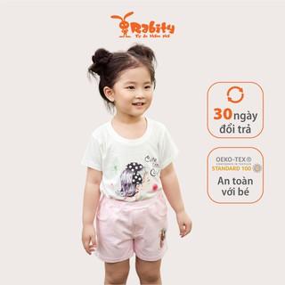 Áo thun ngắn tay bé gái Rabity 91041.5365.91051