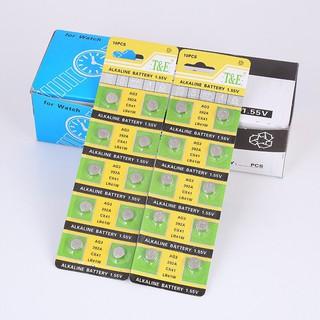 Pin cúc áo loại 1 viên LR44 AG13 LR41 AG3 CR2032 hàng chuẩn pin tốt bền loại 1