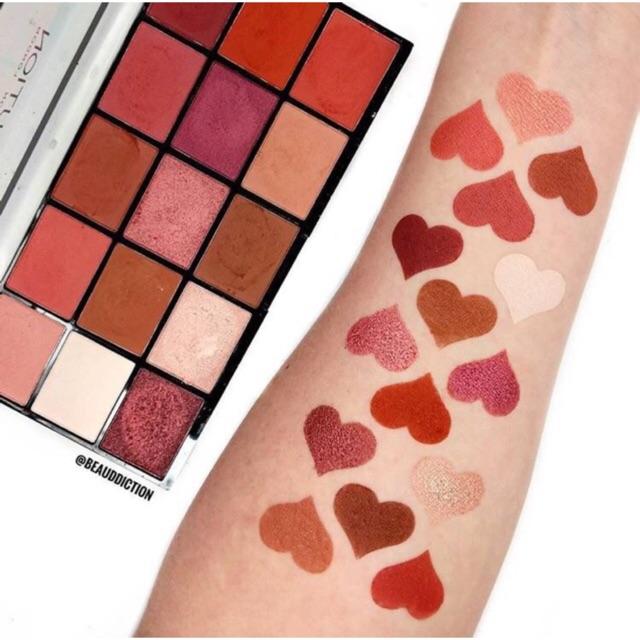 Hàng có sẵn- Bảng mắt makeup revolution (2 bảng như hình)