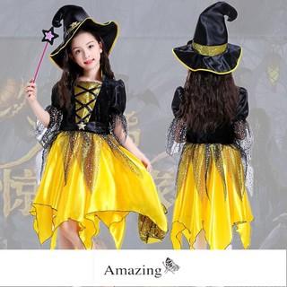 Đầm Halloween Cho Bé Gái
