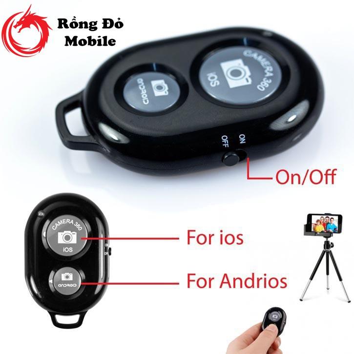 Remote chụp ảnh từ xa điều khiển cho điện thoại Bluetooth Shutter