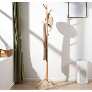 Cây treo quần áo gỗ thông cao cấp, siêu chắc chắn, đã qua xử lý chống mốc l Cây treo đồ bằng gỗ, chịu lực cao thumbnail