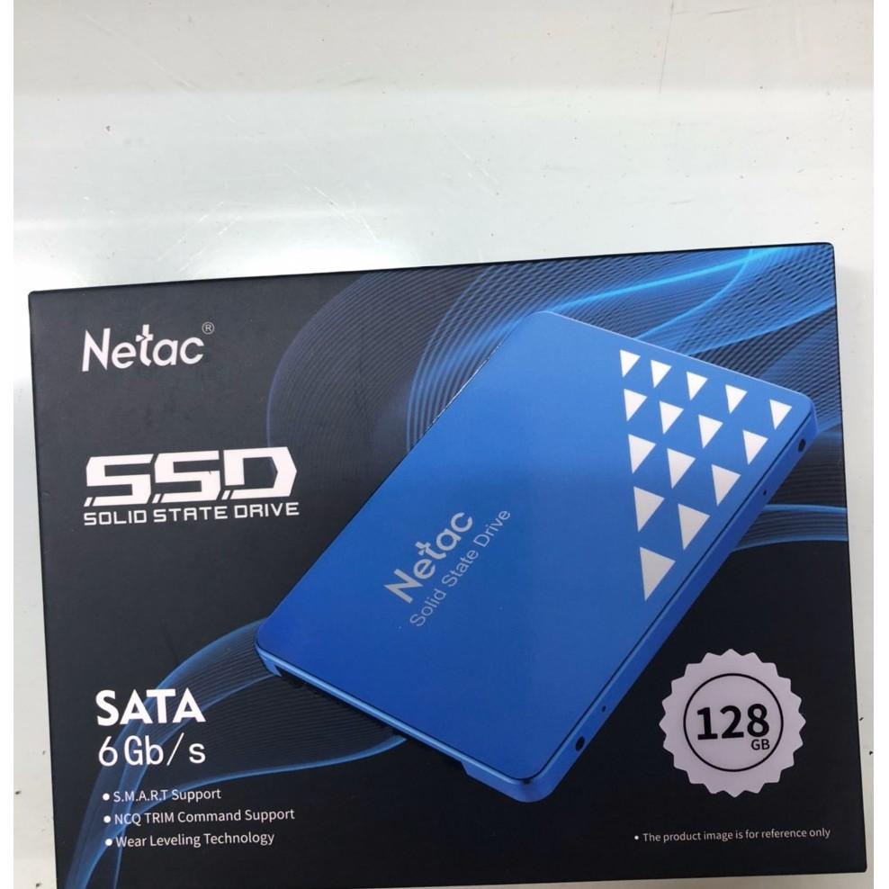 Ổ Cứng SSD NETAC 128GB , Hàng Chính Hãng TOTEM -Vỏ Nhôm, Chất Lượng Tốt- BH 3 Năm