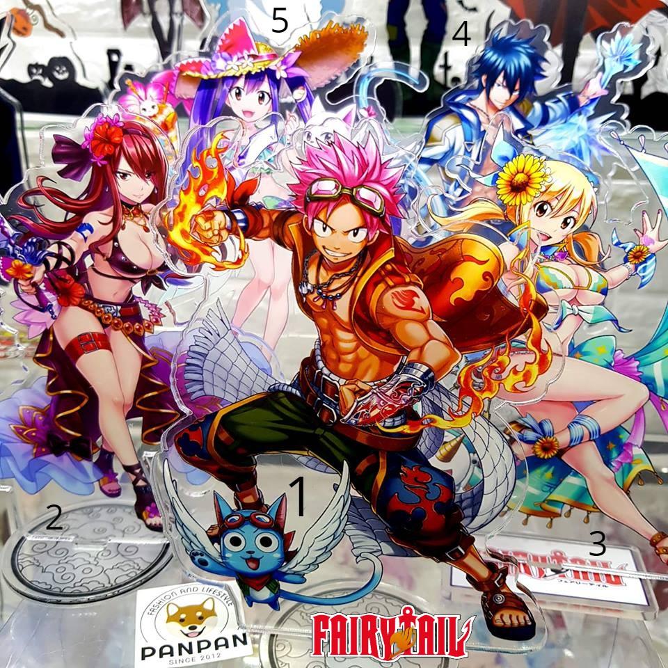 Mô Hình Standee Acrylic Anime Hình Fairy Tail