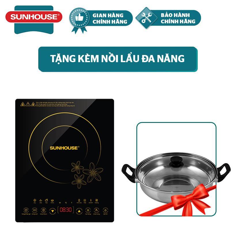 Bếp điện từ cảm ứng SUNHOUSE SHD6800 (kèm lẩu)