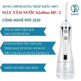 Hình ảnh Máy tăm nước h2ofloss HF- 2 nhập khẩu HANGY [Tặng hộp đựng đầu xịt và túi vải đựng máy cao cấp]-7
