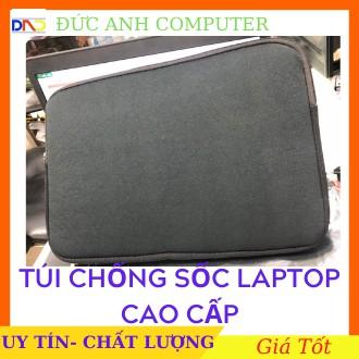 Túi chống sốc laptop Cao Cấp VẢI MỊN MÚT DÀY từ 10->17.3 inch - FULL SIZE - Chống Sốc 4 Góc