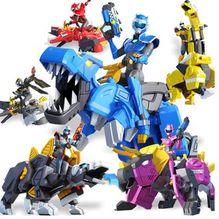 Miniforce biệt đội siêu nhân nhí đồ chơi trẻ em mô hình khủng long và siêu nhân bằng nhựa cao cấp (1 nhân vật) thumbnail