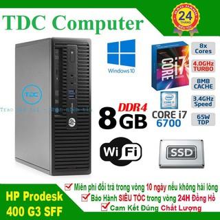 Case máy tính để bàn HP ProDesk 400 G3 SFF main H110, cpu core i7 6700, ram 8GB, SSD 240GB. Hàng Nhập Khẩu. thumbnail