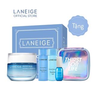 Kem dưỡng ẩm với thành phần nước khoáng xanh cho da dầu và hỗn hợp LANEIGE Water Bank Hydro Cream 50ML - Thirst For Life