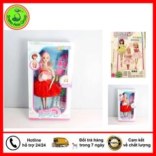 Bộ Sưu Tập Búp Bê Cho Bé Gái – Búp Bê Barbie Có Khớp – BBTB22