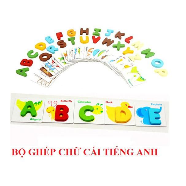 Bộ ghép chữ cái tiếng Anh - Đồ chơi giáo dục gỗ cho bé - 3012242 , 896329012 , 322_896329012 , 220000 , Bo-ghep-chu-cai-tieng-Anh-Do-choi-giao-duc-go-cho-be-322_896329012 , shopee.vn , Bộ ghép chữ cái tiếng Anh - Đồ chơi giáo dục gỗ cho bé