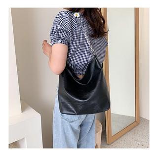 Túi xách nữ vừa sách vở túi tote da hoa cúc công sở vừa A4 đi hoc đi làm hàng đẹp TOTECUC01 hình thật