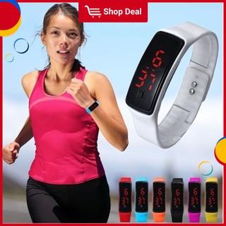 Đồng hồ thể thao kỹ thuật số LED nhập khẩu dành cho nam và nữ