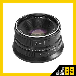 Ống kính 7Artisans 25mm F1.8 For Canon EOS M (Mới 100%) thumbnail