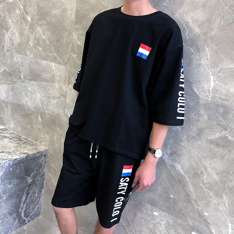 Áo thun nam tay ngắn thương hiệu quần áo thủy lực in từ bi nam bộ sành điệu với xu hướng đẹp trai mùa hè