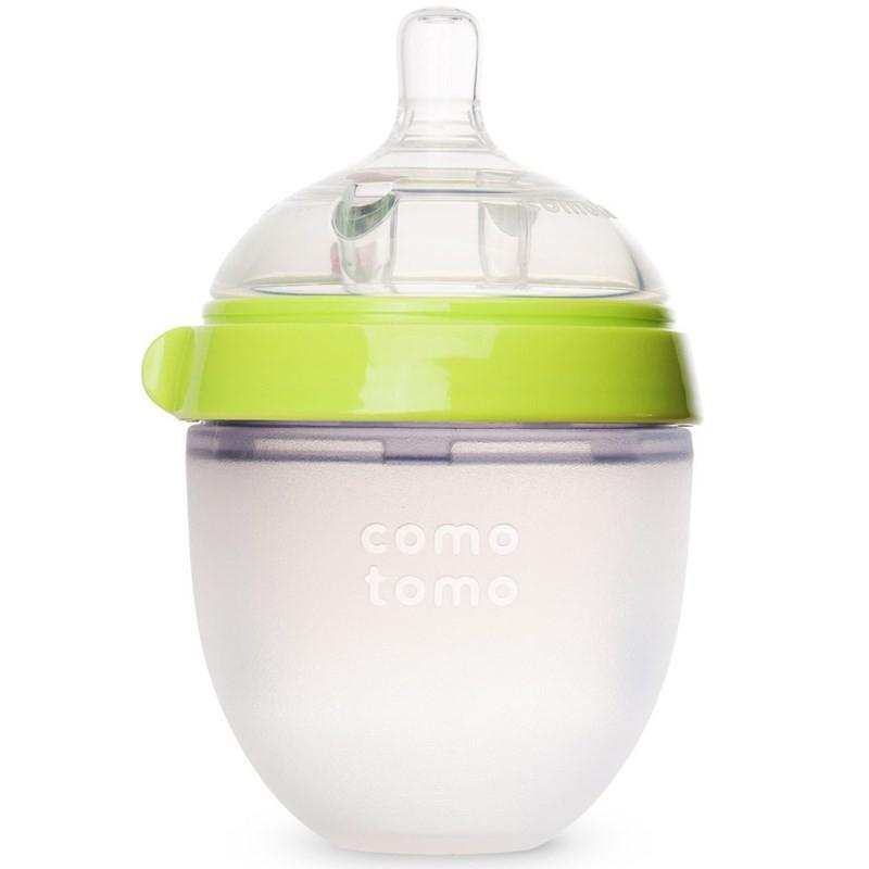 Bình sữa Comotomo 150ml đơn xanh/hồng