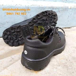 Giày Bảo Hộ Lao Động NTT P04 Chống Đinh Chống Dập Ngón Bảo Hành 03 Tháng – Bảo hành chính hãng