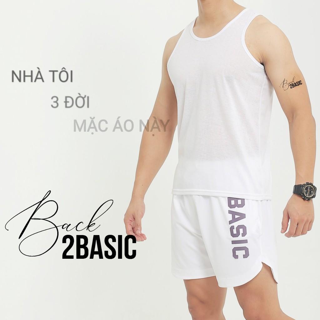 Áo mặc ở nhà ba lỗ chất cotton mỏng mặc lót bên trong chơi thể thao chạy bộ mùa hè