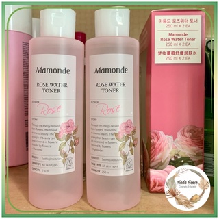 Nước hoa hồng Mamonde Rose 250ml Toner Mamonde Chính hãng