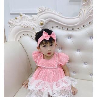 Váy hè cho bé gái💕𝑭𝑹𝑬𝑬𝑺𝑯𝑰𝑷+TẶNG TURBAN💕 Váy đầm bé gái, Váy Công Chúa Bé Gái, Váy bé gái mùa hè cực xinh