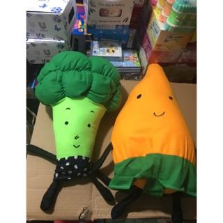 Gối ôm bắp cải – cà rốt B.by