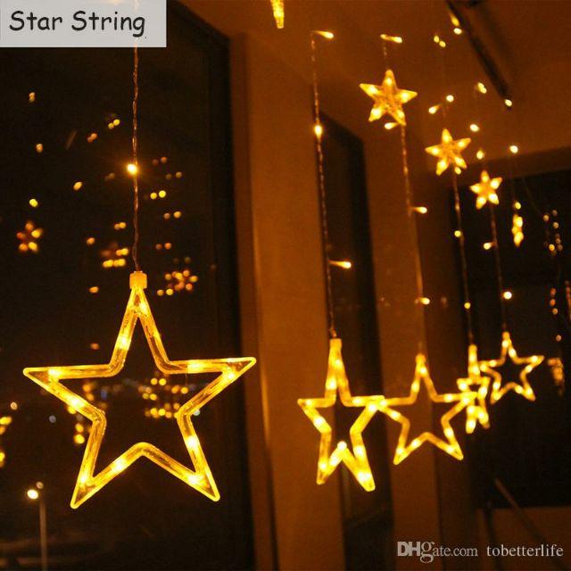 Đèn nháy led hình rèm ngôi sao - 3470777 , 800111314 , 322_800111314 , 215000 , Den-nhay-led-hinh-rem-ngoi-sao-322_800111314 , shopee.vn , Đèn nháy led hình rèm ngôi sao