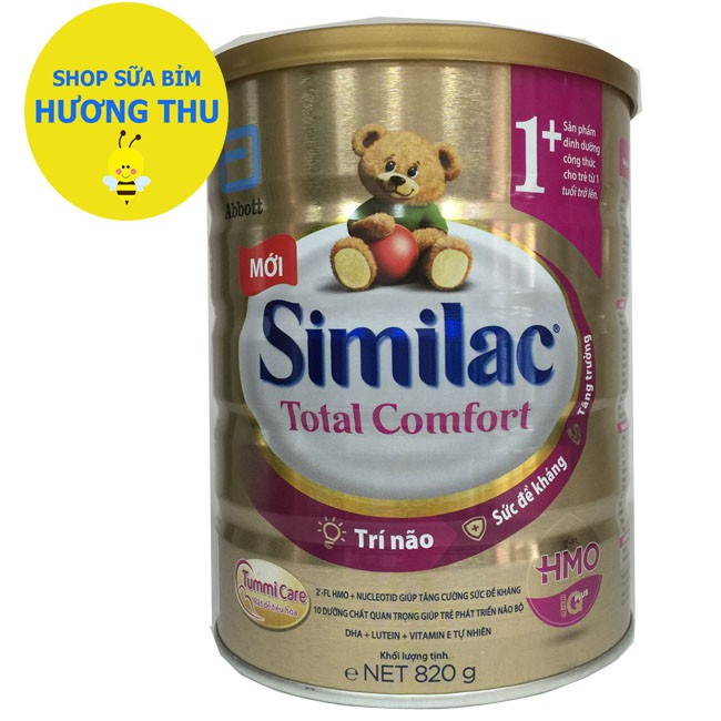Sữa Bột Similac Total Comfort Toddler 1+ lon 820g