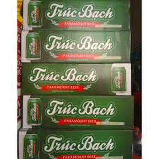 (HCM) Thùng bia Trúc Bạch 24 lon x 330ml Date mới nhất