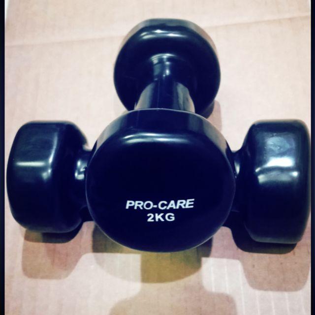 Tạ tay cao su PRO-CARE. 2kg và 3kg