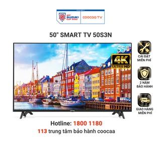 Smart Tivi Netflix 4K UHD Coocaa 50 inch – Model 50S3N – Miễn phí lắp đặt
