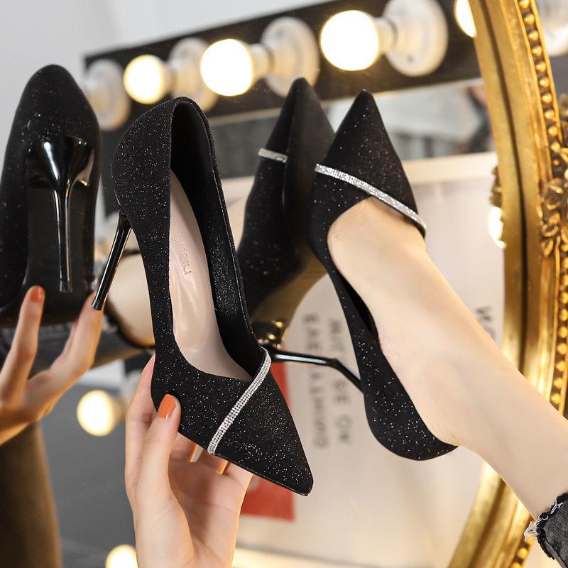 giày cao got bít mũi - P12514 | Sàn thương mại điện tử của