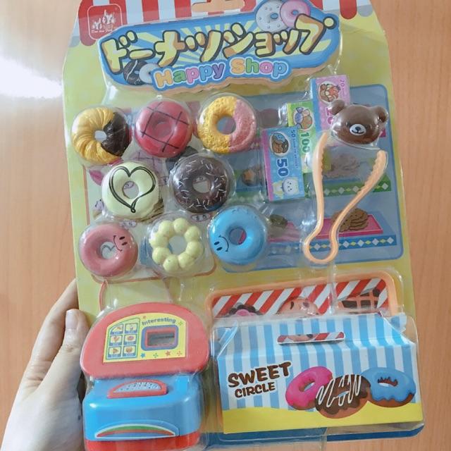 Đồ chơi làm bánh donut nhà bếp cho bé gái