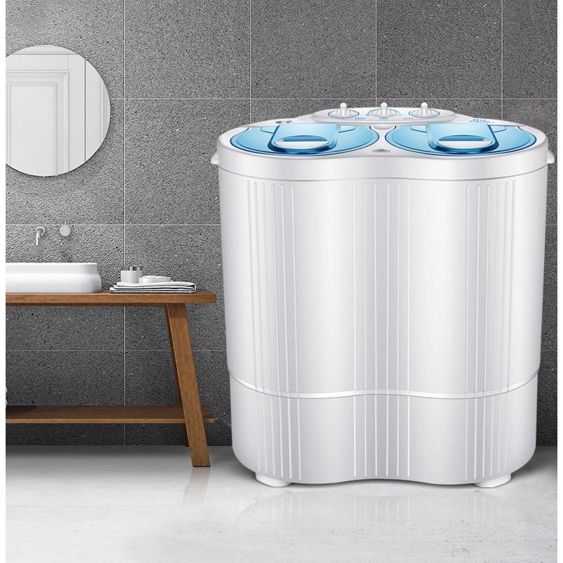 [ELHAT1TR giảm tối đa 1 triệu] [ King Royalty] Máy giặt mini cho bé 2 lồng tia UV diệt khuẩn