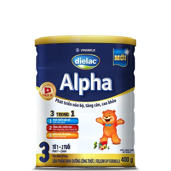 SỮA BỘT DIELAC ALPHA 3 - 400G