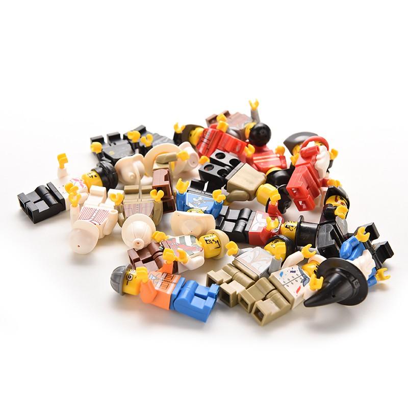 adore 20 Pcs Minifigures Men People Minifigs Grab Bag gift Random Figures Kids Toy craving