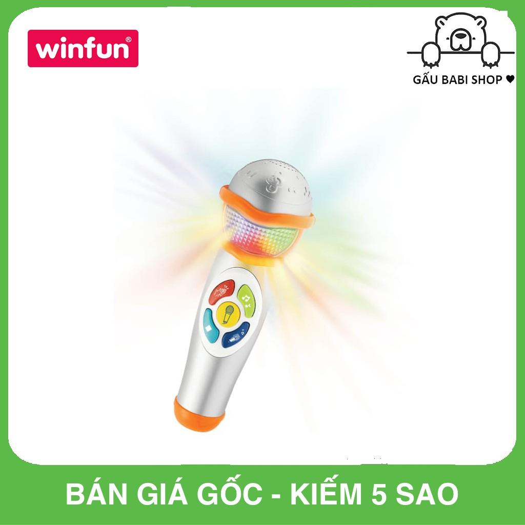 Micro bé tập làm ca sỹ có nhạc Winfun 2052 – Hàng chính hãng