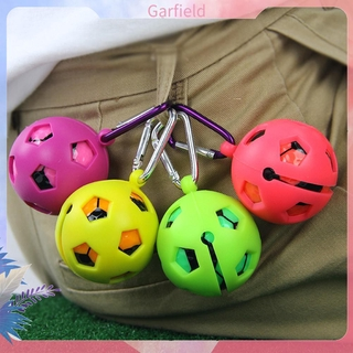 Silicone Golf Ball Sleeve Protective Cover Key Ring Keychain Golf Accessory