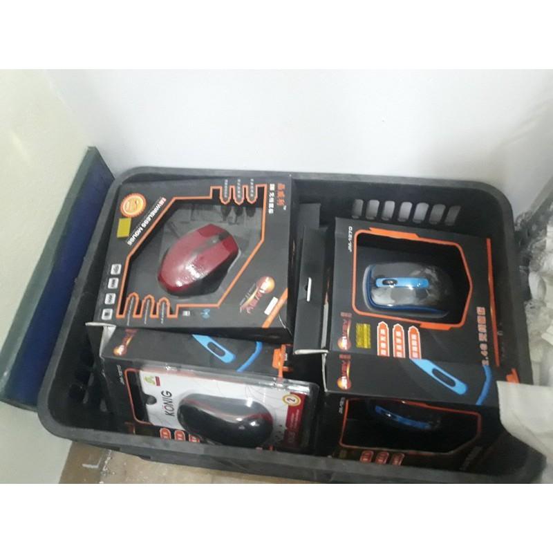Chuột máy tính ko dây hàng thanh lý cửa hàng