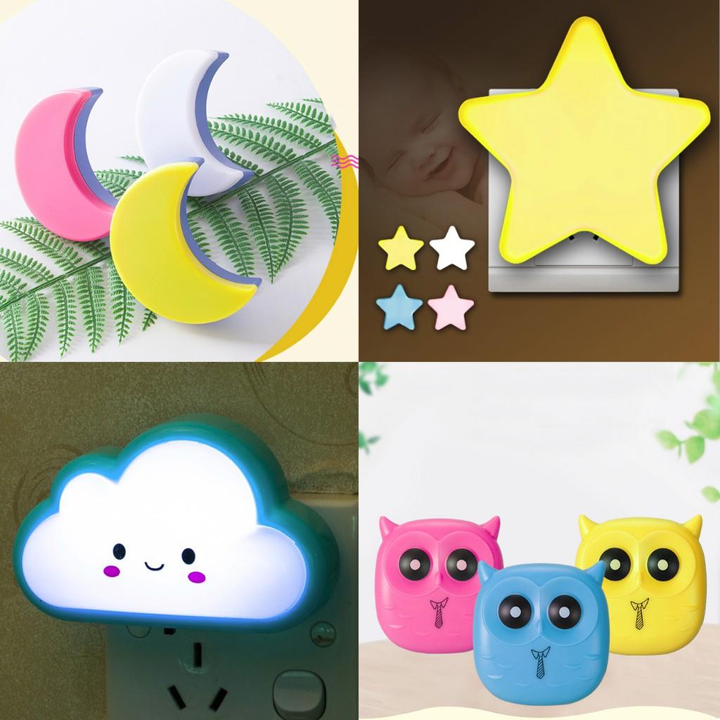 Đèn ngủ cảm biến sáng tạo đáng yêu trang trí phòng cho bé.