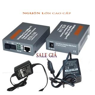 [FREESHIP] Cặp converter quang điện NETLINK AB 3100 Nguồn cao cấp