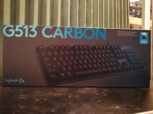 Bàn Phím Gaming Logitech G513 Carbon