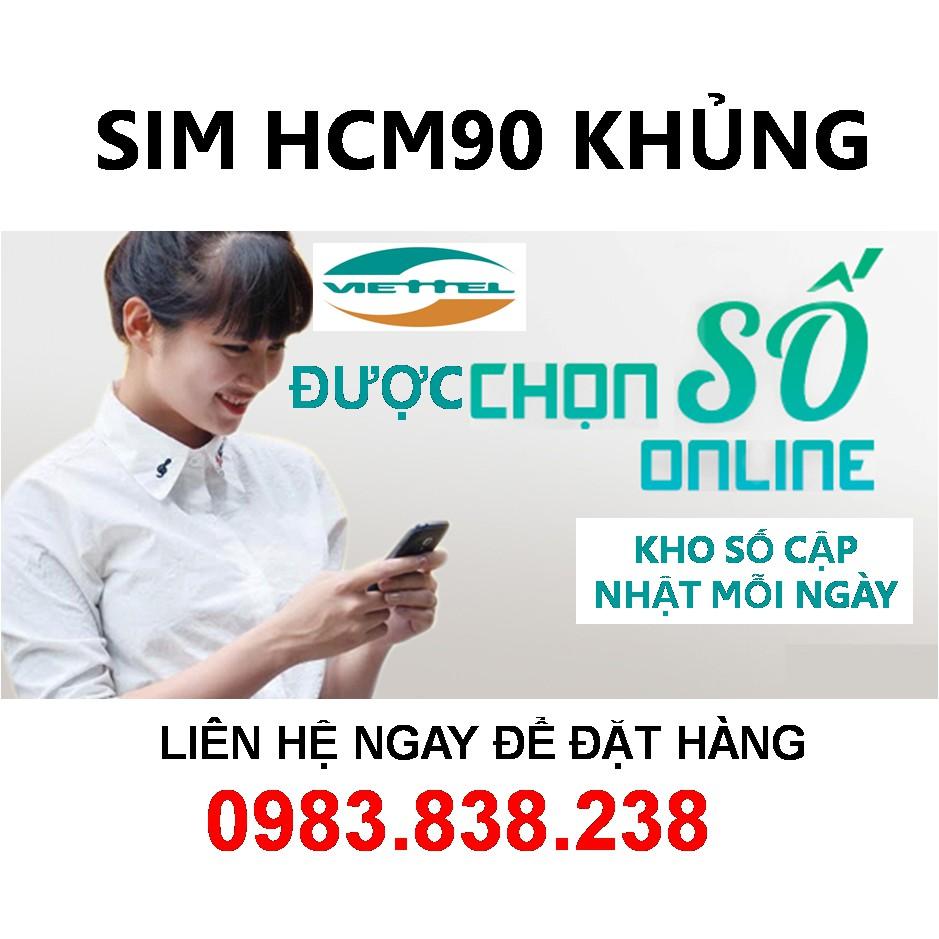 SIM SIÊU RẺ HCM 90 CHỈ GIAO SIM TẠI TP. HỒ CHÍ MINH - CHÍNH CHỦ