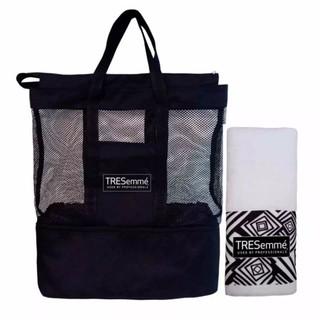 Bộ túi lưới TRESemme đi biển 2 tầng và khăn lông cao cấp thumbnail