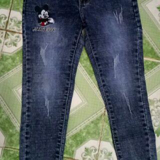 Quần jeans bé gái